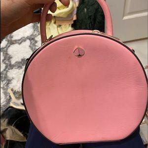 Kate Spade Pastel Pink Leather circle bag